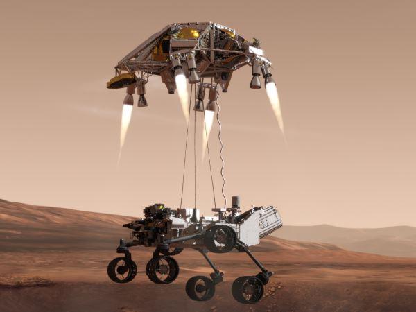 mars rover landing - 906×680